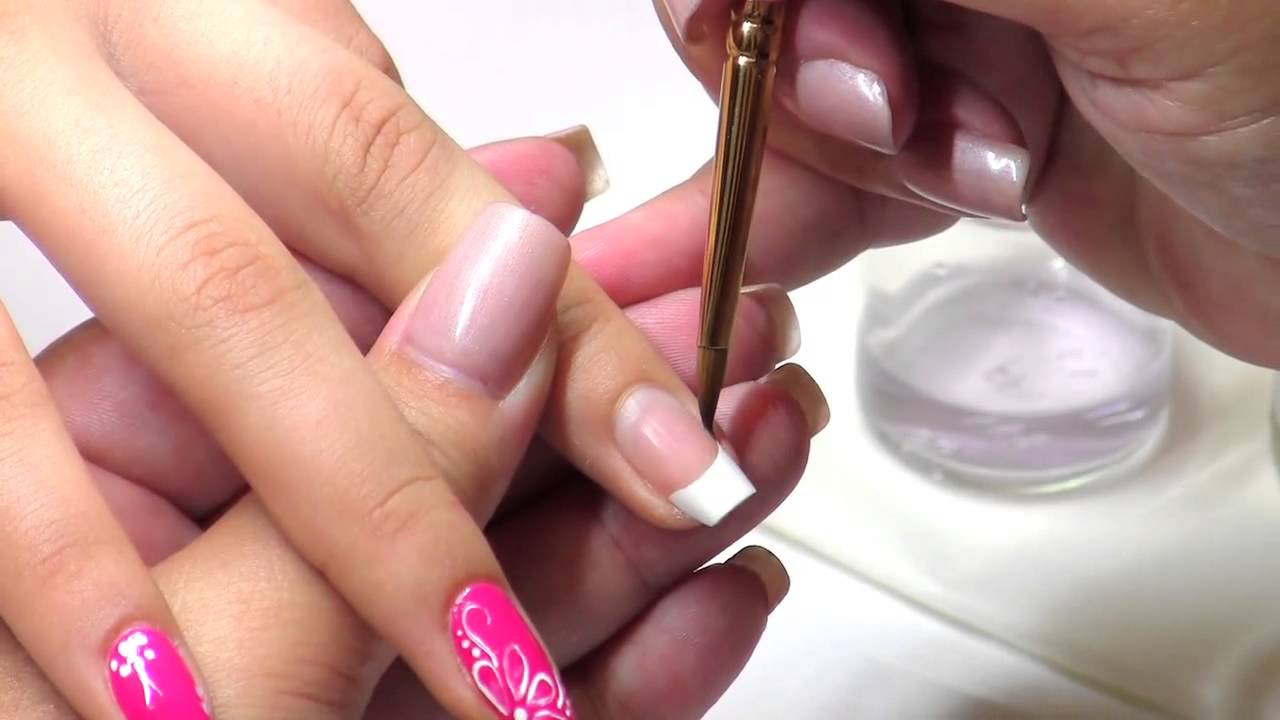 NAILS Troubleshooter: French Twist Nail Art - YouTube