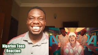Nigerian React To Justin Bieber - Peaches ft. Daniel Caesar, Giveon