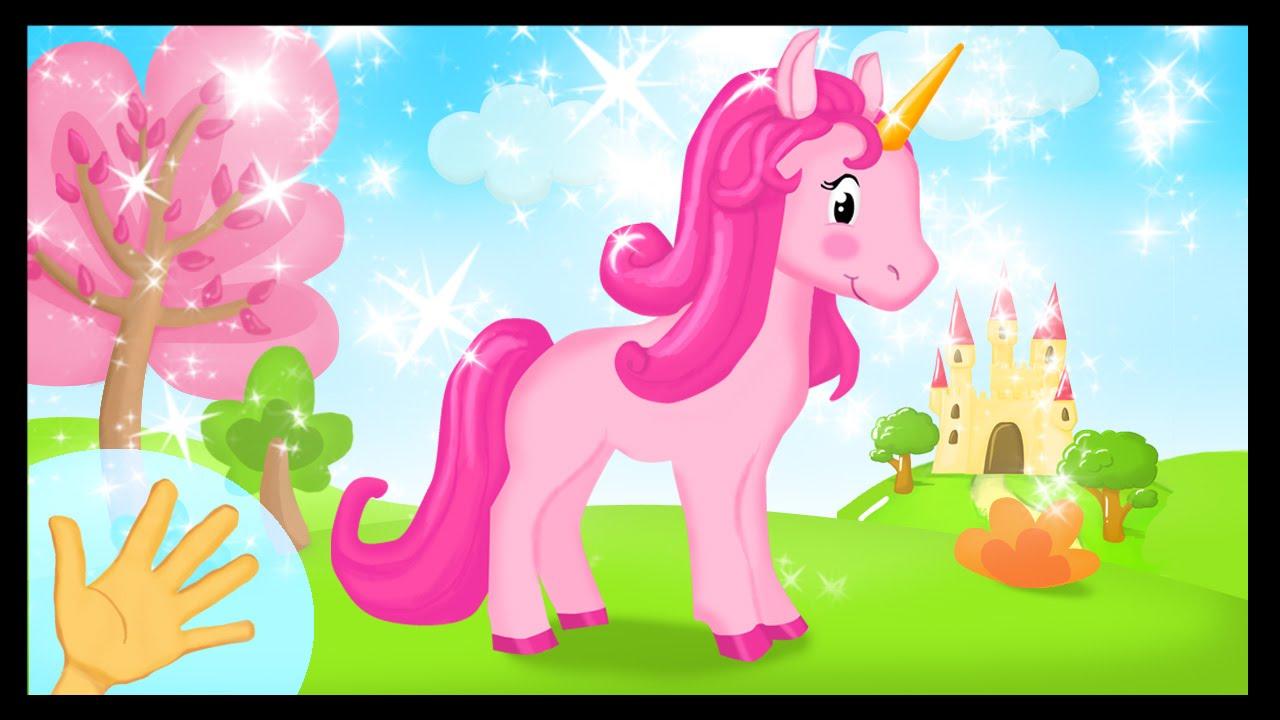 La comptinette de la licorne comptines gestes avec les princesses titounis youtube - Image licorne ...