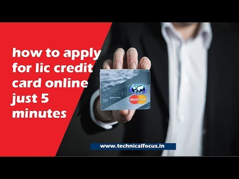 How To Apply LIC Credit Card Online Processing Step By Step Guide