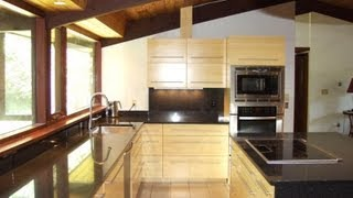 Concord Ma - Custom Kitchen Cabinets - Contemporary  Bathroom Vanity - Custom Quartz Countertops