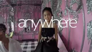 Behind the scenes video, Fashion shoot anywhere magazine with Wanmai in La Lune fashion