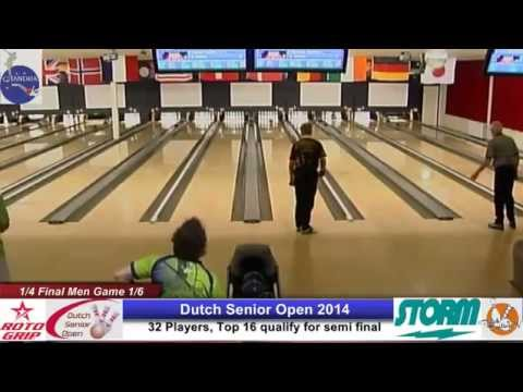 Quarter Final Men Dutch Senior Open 2014