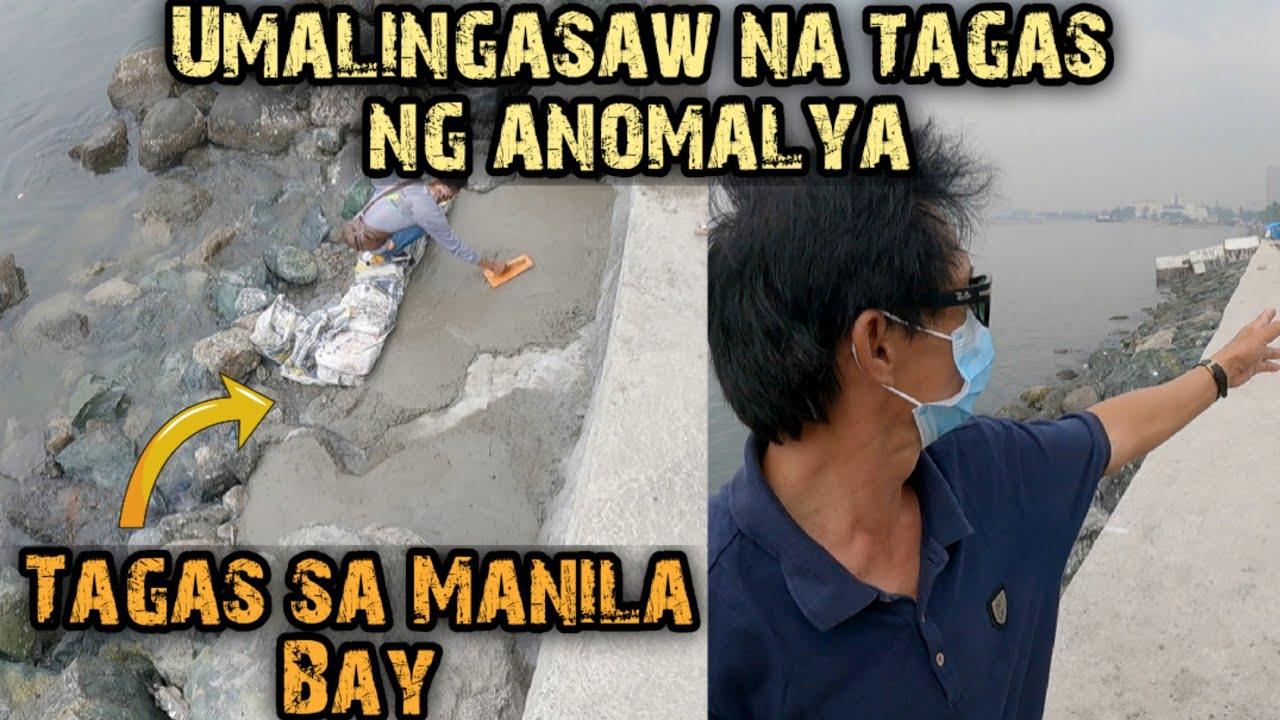 Anomalya sa Manila Bay dahil sa umalingasaw na tagas