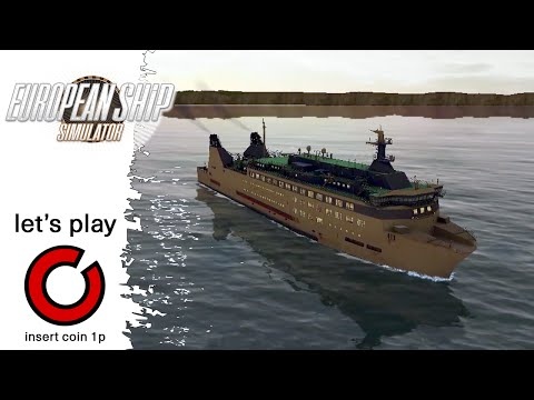 Dover To Calais - European Ship Simulator - Let's Play - #1