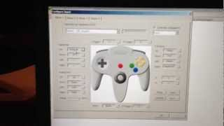 How to set up a Retrolink Nintendo 64 Controller with Project 64