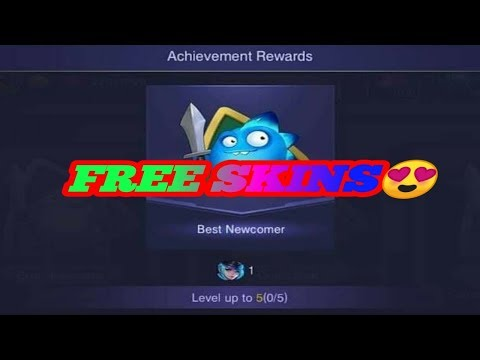 FREE SKINS FROM NEW ACHIEVEMENTS