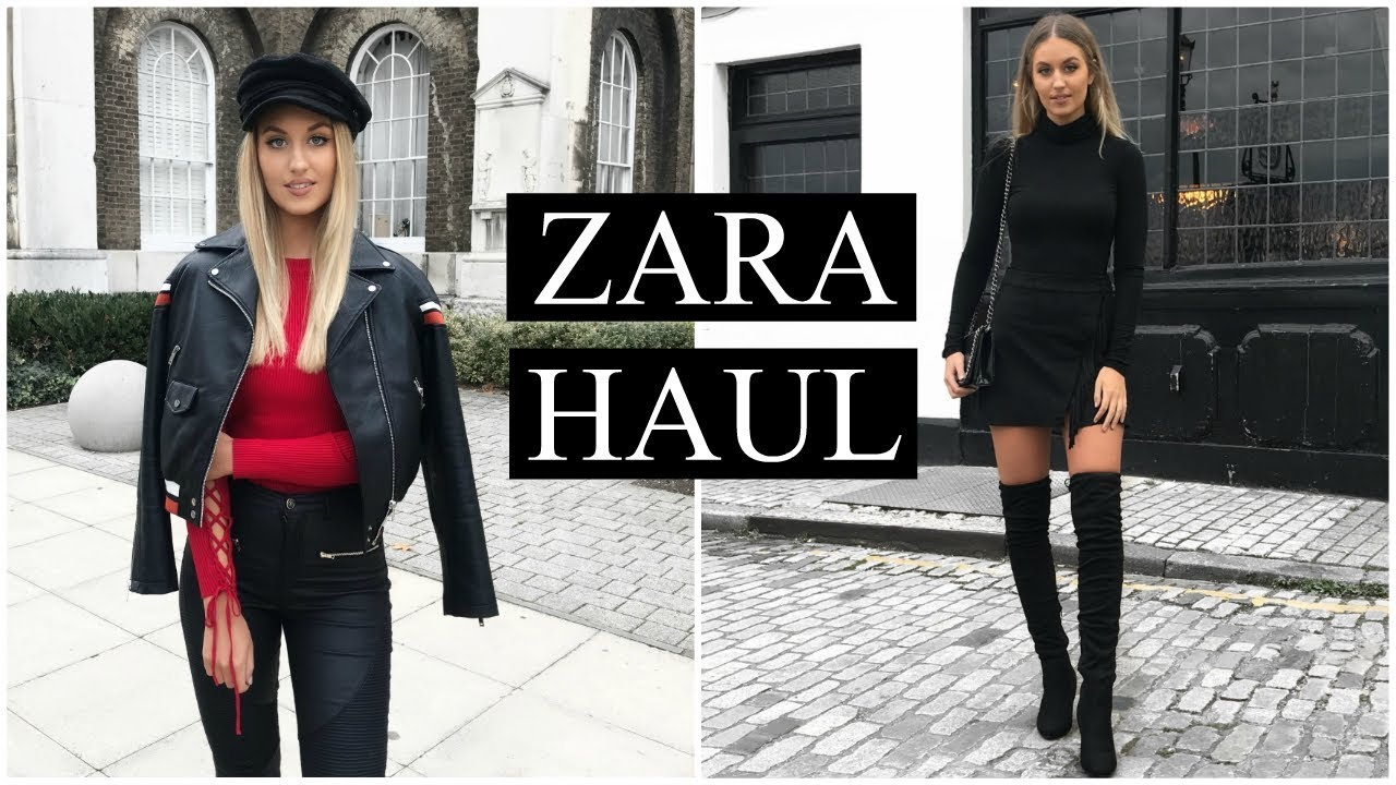 ZARA HAUL & TRY ON | AUTUMN/WINTER OCTOBER 2017 3