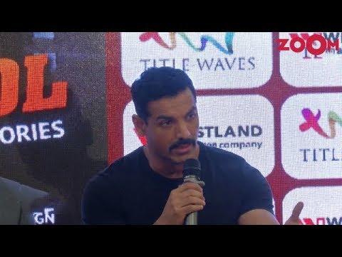 John Abraham talks about his upcoming film Batla House | Bollywood News