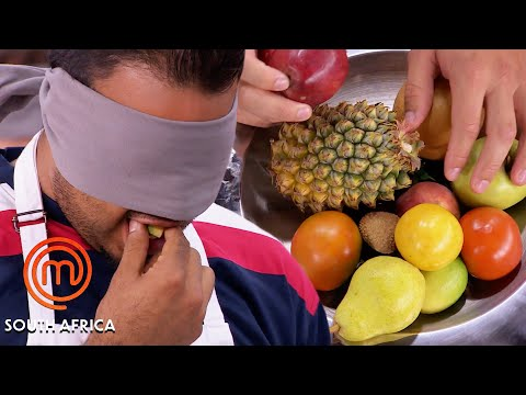 How To Identify Fruit... Blindfolded! | MasterChef South Africa | MasterChef World