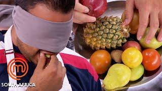 How To Identify Fruit... Blindfolded!   MasterChef South Africa   MasterChef World