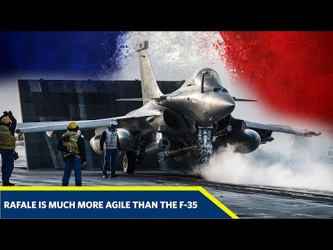 The Rafale Is Much More Agile Than The F-35