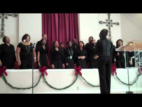Tabernacle Of Praise Christian Church Choir. Sunday 1.1.2012 singing- Draw Me Close To You