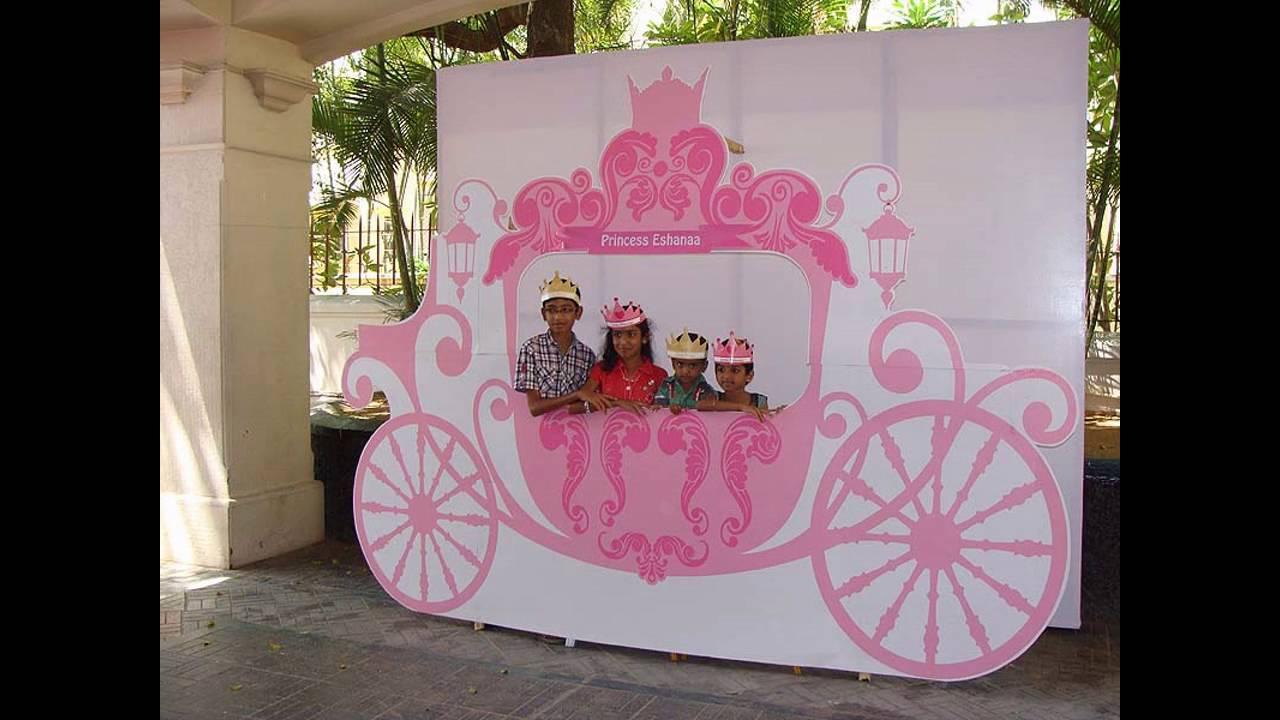 Princess birthday party decoration ideas - YouTube