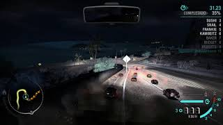 Jugando con autos miniatura (scale 0.3) Need for Speed: Carbon extra options mod