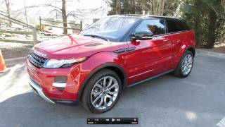 2012 Range Rover Evoque Coupe Pure Plus Dynamic Start Up, Exhaust, and In Depth Tour