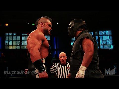Lucha Underground 6/3/16: Cage vs Matanza - LUCHA UNDERGROUND CHAMPIONSHIP