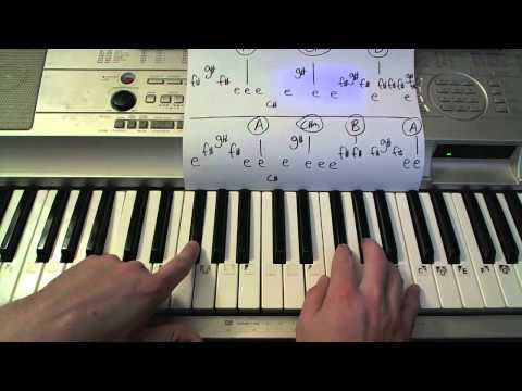 Red- Piano Lesson - Taylor Swift  (Todd Downing)