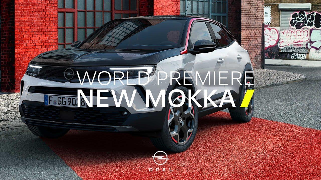 Download New Opel Mokka-e and Mokka GS Line: World Premiere