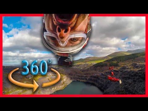 RIDING WORLDS FASTEST ZIP LINE IN 360 😱