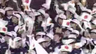 ドーハアジア大会~開会式 選手入場-イラクから日本-