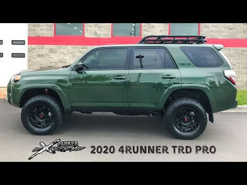 2020 4Runner TRD Pro Army Green - Custom Build