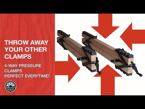 Throw Away Your Other Clamps: Four-Way Pressure Clamps