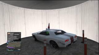 Un teletubbies dans une soucoupe volante GTA V