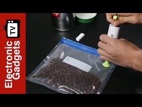 Moyeah Vacuum Sealer Food Bags Double Zip Lock 10 Reusable 9 Times