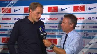 La réaction de Thomas Tuchel après PSG VS Caen 3-0