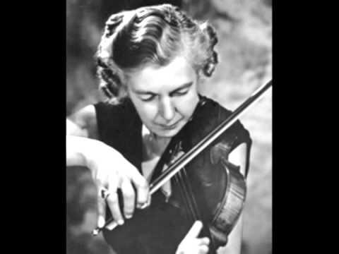Isolde Menges (Vn) Beethoven Violin concerto ~ 1'st Mov.