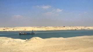 شاهد قناة السويس الجديدة فى عيد الربيع وتدفق المواطنيين لشم النسيم فيها