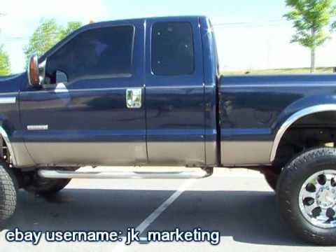 2005 ford f250 diesel 4x4 for sale youtube. Black Bedroom Furniture Sets. Home Design Ideas