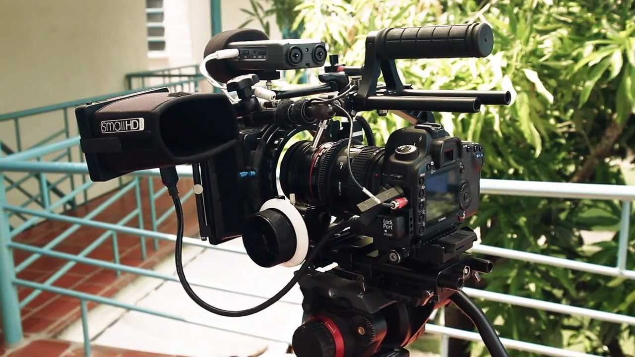 How to set up a dslr for video youtube