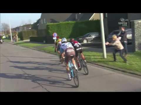 Final kilometers- E3 Harelbeke 2017