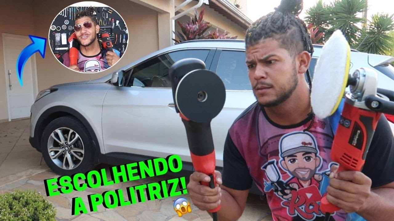 ESCOLHA DESSA FORMA SUA POLITRIZ - ENTENDA DE UMA VEZ!!!!