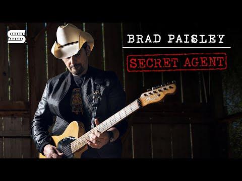 Brad Paisley's Signature Secret Agent Esquire Pickup   Seymour Duncan