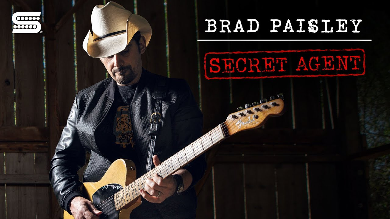Brad Paisley's Signature Secret Agent Esquire Pickup | Seymour Duncan