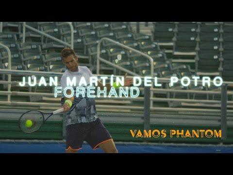 Slo-Mo: Juan Martín Del Potro Forehand Super Slow Motion Delray Beach Open 2017