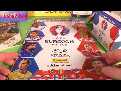 50 x 5 PANINI STICKER Album UEFA Road to EURO 2016 France MEGA EM official 50 Pakete Aufkleber :)