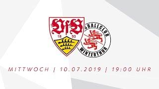 Live Ab 19 Uhr: Vfb Stuttgart   Fc Winterthur