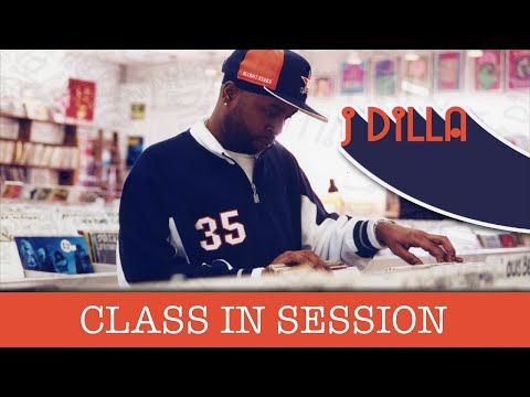 J Dilla - Class In Session |Finding Samples, Removing Drums, Chopping Style, Vintage Music Equipment