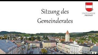 Livestream von Gemeinderatssitzungen der Stadt Freistadt