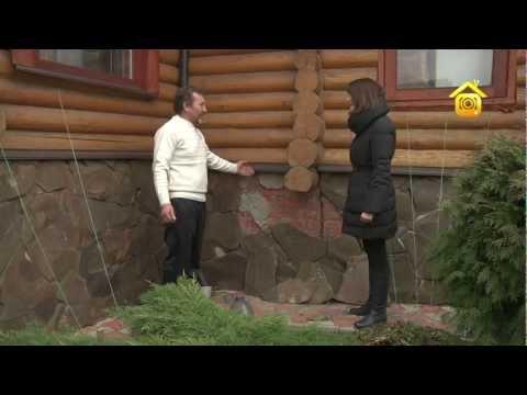 видео: Бревенчатый дом из сказки. Своими руками // forumhouse