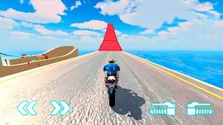 Impossible Mega Ramp Bike Stunts Dirt Motorcycle Race Game Bike Games for Android