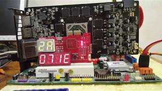 Video karta RX kompleks ta'mirlash bu 570. Xotira chiplari almashtirish. Part 2