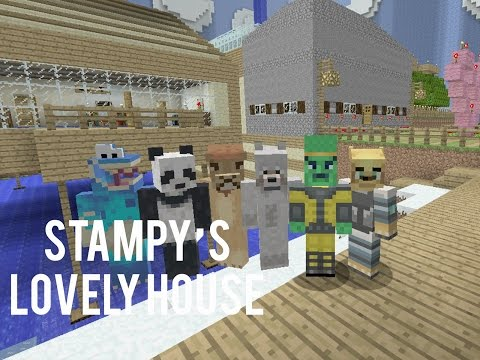 Minecraft Xbox - Hide and Seek - Stampy's Lovely House