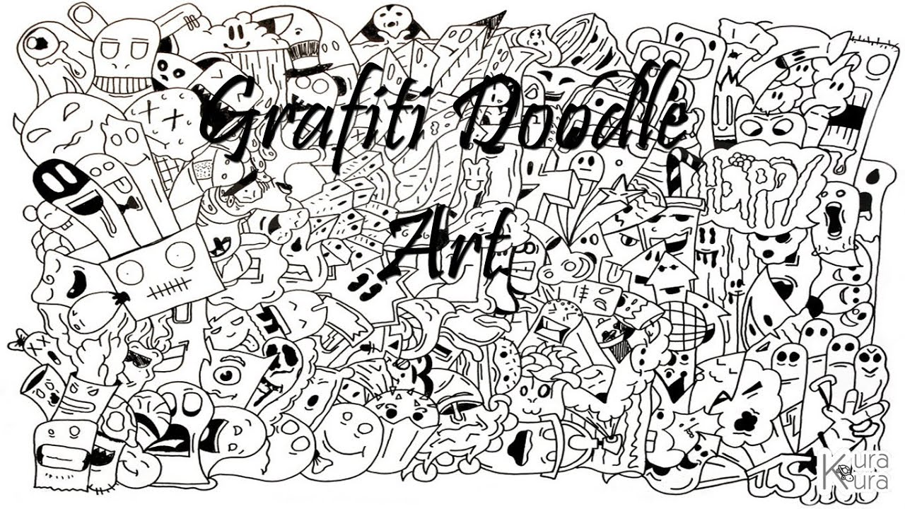 Grafiti Doodle Art Youtube