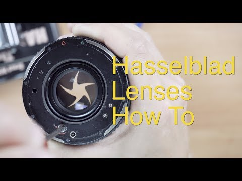 Using Hasselblad C Lenses    How To