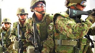 Japan Ground Self-Defense Force - Close Quarters Combat Training